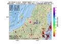 地震震源マップ:2017年05月26日 12時19分 新潟県下越地方 M2.7