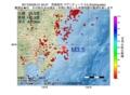 地震震源マップ:2017年05月26日 21時40分 茨城県沖 M3.5