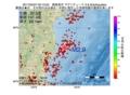 地震震源マップ:2017年05月27日 00時10分 福島県沖 M2.9