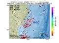 地震震源マップ:2017年05月27日 01時45分 宮城県沖 M4.0