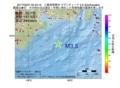 地震震源マップ:2017年05月27日 02時43分 三重県南東沖 M3.5