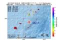 地震震源マップ:2017年05月27日 03時05分 奄美大島北東沖 M2.7