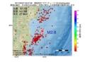 地震震源マップ:2017年05月27日 03時07分 福島県沖 M2.8