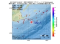 地震震源マップ:2017年05月27日 04時06分 根室半島南東沖 M2.7
