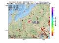 地震震源マップ:2017年05月27日 18時16分 長野県北部 M2.5