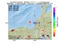 地震震源マップ:2017年05月27日 22時50分 福井県沖 M5.3