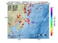 地震震源マップ:2017年05月27日 23時03分 千葉県東方沖 M3.0