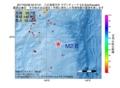 地震震源マップ:2017年05月28日 02時47分 八丈島東方沖 M2.6