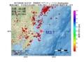 地震震源マップ:2017年05月28日 16時37分 茨城県沖 M3.1