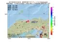 地震震源マップ:2017年05月29日 07時22分 鳥取県中部 M2.7