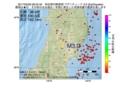 地震震源マップ:2017年05月29日 08時53分 秋田県内陸南部 M3.0