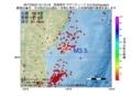 地震震源マップ:2017年05月31日 01時12分 宮城県沖 M3.5