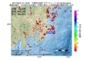 地震震源マップ:2017年05月31日 01時16分 千葉県北西部 M2.9