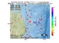 地震震源マップ:2017年05月31日 08時15分 岩手県沖 M2.6