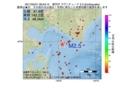 地震震源マップ:2017年05月31日 08時53分 浦河沖 M2.5