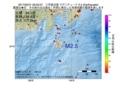 地震震源マップ:2017年05月31日 09時25分 三宅島近海 M2.5