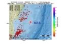 地震震源マップ:2017年05月31日 10時18分 宮城県沖 M2.5