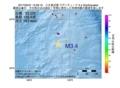地震震源マップ:2017年05月31日 15時26分 八丈島近海 M3.4