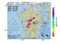 地震震源マップ:2017年05月31日 17時59分 熊本県熊本地方 M2.7