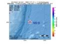 地震震源マップ:2017年05月31日 18時10分 三陸沖 M2.8
