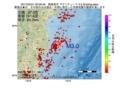 地震震源マップ:2017年05月31日 20時06分 福島県沖 M3.0