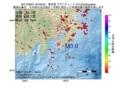 地震震源マップ:2017年06月01日 04時49分 東京湾 M3.0