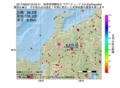 地震震源マップ:2017年06月02日 02時02分 岐阜県飛騨地方 M2.9