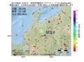 地震震源マップ:2017年06月02日 15時04分 岐阜県飛騨地方 M3.4