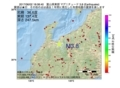 地震震源マップ:2017年06月02日 18時08分 富山県東部 M3.8