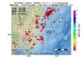 地震震源マップ:2017年06月04日 14時06分 茨城県沖 M2.7