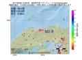 地震震源マップ:2017年06月06日 12時58分 鳥取県中部 M2.6