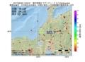 地震震源マップ:2017年06月06日 13時00分 福井県嶺北 M3.7