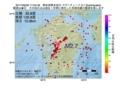 地震震源マップ:2017年06月06日 17時04分 熊本県熊本地方 M2.7