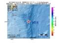 地震震源マップ:2017年06月07日 04時31分 関東東方沖 M2.8