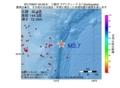 地震震源マップ:2017年06月07日 05時58分 三陸沖 M3.7