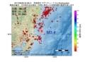 地震震源マップ:2017年06月08日 20時38分 茨城県沖 M3.4
