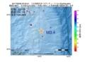 地震震源マップ:2017年06月08日 20時52分 八丈島東方沖 M3.4