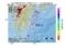 地震震源マップ:2017年06月09日 06時06分 日向灘 M2.5