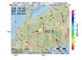 地震震源マップ:2017年06月10日 06時34分 長野県中部 M2.9