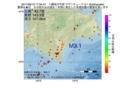 地震震源マップ:2017年06月10日 17時34分 十勝地方中部 M3.1