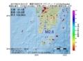 地震震源マップ:2017年06月10日 23時41分 薩摩半島西方沖 M2.6