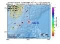 地震震源マップ:2017年06月11日 02時52分 九州地方南東沖 M2.5