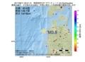地震震源マップ:2017年06月11日 05時01分 青森県西方沖 M3.8