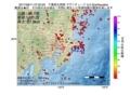 地震震源マップ:2017年06月11日 07時00分 千葉県北西部 M2.5