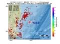 地震震源マップ:2017年06月11日 07時52分 福島県沖 M4.2