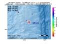 地震震源マップ:2017年06月11日 12時20分 八丈島東方沖 M3.0