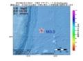 地震震源マップ:2017年06月12日 01時25分 三陸沖 M3.0