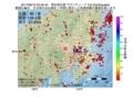 地震震源マップ:2017年06月12日 04時25分 埼玉県北部 M2.6