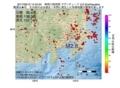 地震震源マップ:2017年06月12日 14時40分 神奈川県西部 M2.8