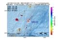 地震震源マップ:2017年06月12日 22時19分 奄美大島北東沖 M3.0